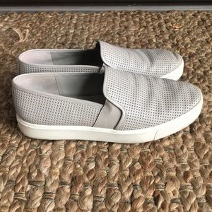 Vince Blair perforated slip ons